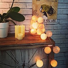 Ula Interior Design with Cable and cotton Cable And Cotton Lights, Light Shades, Candle Sconces, Wall Lights, Vase, Candles, Display, Interior Design, Lighting