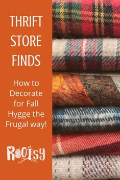 Good thrift store finds can take willingness to dig and holding out for the real treasures, but with the right mindset, you can find just what you need for Fall Hygge Decor!