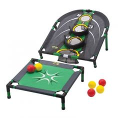 Can you bounce the ball into the bounce platform and get it into the Spring Fling target?  Go! Gator Spring Fling Outdoor Game - Mills Fleet Farm