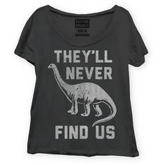 Never Find Us Tee Women's Black, $19.75, now featured on Fab.