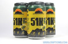 51K IPA from Blackrocks Brewing in Marquette, Michigan