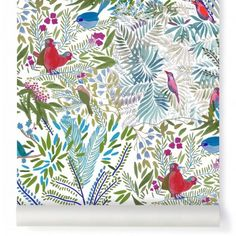Wallpaper Little Jazz mousse Multicolor Cabari