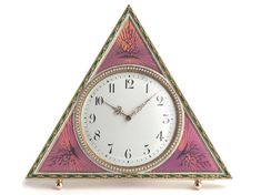 Faberge clock bought by the Tsar and Tsarina in 1901 (courtesy Wartski, London).