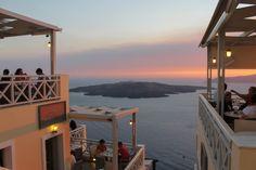 Exploring Santorini: A Day Trip to Imerovigli and Fira Small Island, Beautiful Buildings, Day Trip, Santorini, Greece, Explore, Outdoor Decor, Travel, Chair