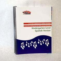 K Spanish Curriculum Binder  |  Send an order request to ordermaterials@readinginmotion.org
