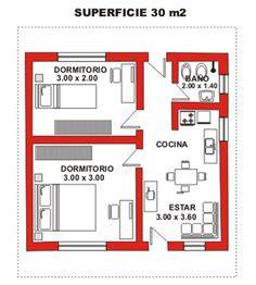 Guest House Plans, 2 Bedroom House Plans, House Layout Plans, New House Plans, Small House Plans, House Layouts, Two Story House Design, Small House Design, House Construction Plan