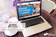 Finalização de Projeto:  Novo Site do Educ Ação está no Ar - http://ift.tt/1NilaP4. Site totalmente adaptado para dispositivos móveis.  O Instituto Educ Ação tem como objetivo a inclusão educacional para todas as pessoas e comunidades do Brasil onde oferecem bolsas de estudo para aqueles que não tem condições de pagar uma mensalidade no valor integral. Tem convenio com escolas faculdades e universidades de todo o brasil. #CriaçãoDeSite #Site #NovoSite #EducAçãoEs #EducAção #NoAr…