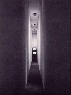 Image result for bruce nauman corridor piece