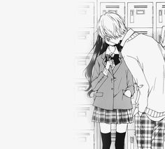 Anime couple ~ kiss