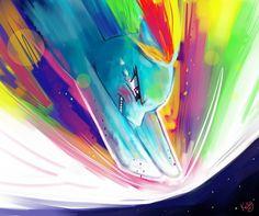 Rainbowdash 01 by Kellykatz (via anipan.com)