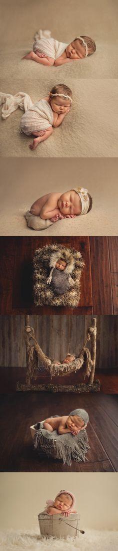 Des Moines, Iowa newborn photographer, Darcy Milder   His & Hers   3 day old Kassidy