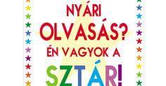 Nyáriolvasmányok2014.pdf Homeschool, Pdf, Calm, Teaching, Writing, Education, Funny, Summer, Summer Time