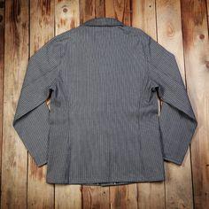 1937 Roamer Jacket grey wabash 13oz (Arbetsjacka i grå wabash)