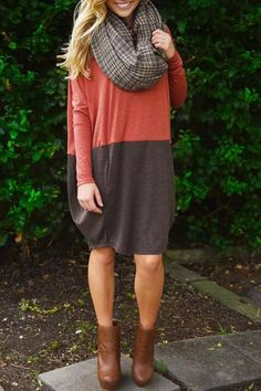 Chic Color Block Knit Dress from Dear Daisy. Saved to . Shop more products from Dear Daisy on Wanelo.