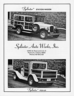 1982 Splinter Auto Works Kit Cars   by aldenjewell
