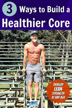 You can develop lean strength in your abdominals no matter what your age. Here are 3 ways to create a healthier core. Bodybuilding Training, Bodybuilding Workouts, Bodyweight Strength Training, High Intensity Interval Training, Stubborn Belly Fat, Lose Belly Fat, Flat Abs Workout, Workout Diet, Fitness Inspiration