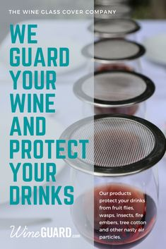 Tired of trying to guard your wine from fruit flies, wasps or airborne particles? Create your own no-fly-zone with WineGuards! Just sit back and relax between sips and let your wine breathe.   #wineguard #wineglasscover #wineaccessories #shopit #gifts #bestgift #barware #giftsforhim #giftsforher #winetops #winetopper #winestagram #winegift #drinklid #wineglass #noflyzone #newproduct #barware #winedrinker #weekendvibes #wineporn  #wineglasscovers #amazon #stockingstuffers #winegifts… Winery Tasting Room, Wine Tasting Experience, Fruit Flies, Stainless Steel Mesh, Wine Gifts, Party Planning, Tired, Breathe, Barware