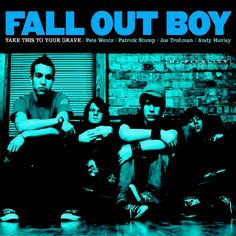 Fall Out Boy CD covers, 2003 → 2014 / gif