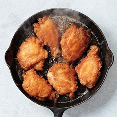 Make nongreasy fried food in a cast-iron skillet, like our finger-licking good Skillet-Fried Chicken.