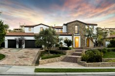 Curb appearl of Kylie Jenner's home  - HouseBeautiful.com #celebrityhomes #kyliejenner