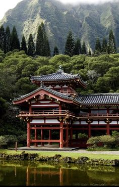 Byodo Temple  Oahu, Hawaii.I want to visit here one day.Please check out my…