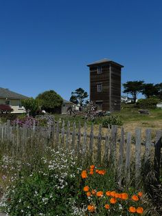 Mendocino Tower House by mark.hogan, via Flickr