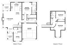 Home Information (Sq Ft) Main Floor: 1599 Upper Floor: 591 Total Living Area: 2190 Garage: 419 Total Finished Area: 2609