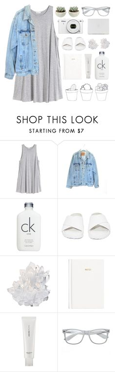 """""""simplistic (179)"""" by bastille-anna ❤ liked on Polyvore featuring H&M, Levi's, Calvin Klein, Jeffrey Campbell, McCoy Design, AmorePacific, Retrò and Nikon"""