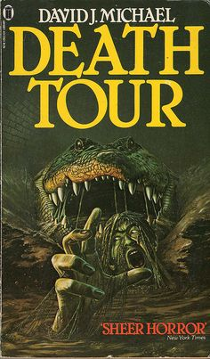 Death Tour by David J Michael (NEL, 1980) by oldbooksandmags, via Flickr