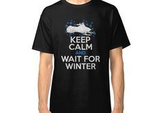 Keep Calm Snowmobile Winter Sport Gift Classic T-Shirt Snow Pony, Used Boats, Sports Gifts, Winter Sports, Keep Calm, Chiffon Tops, Classic T Shirts, Mens Tops, Snowmobiles