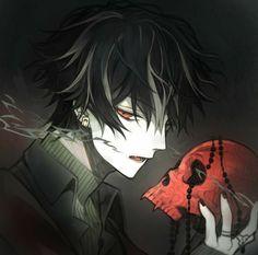 Dark Anime, Anime Oc, Manga Anime, Character Inspiration, Character Art, Character Design, Dark Art Illustrations, Hot Anime Guys, Shinigami