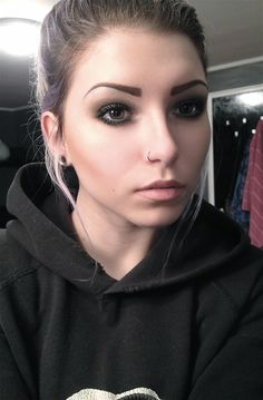 nose hoop piercing - Google Search