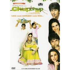 Chup Chup Ke - romantic comedy of errors & mistaken identities. Jeetu, a small-town hustler, fakes his death so that his family can claim his insurance and repays his debts but 2 fishermen find him & mistaking him to be a millionaire hatch a scheme to extend his services to a money-lender in exchange of the money they owe.