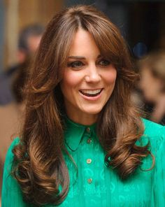 A number of Manhattan's top hair salons have reported a surge in demand for Kate Middleton bangs