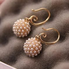 Dandelion Pearl Fashion Earrings | LilyFair Jewelry,$11.99!