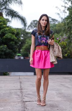Street style SPFW - Dia 3 - pink