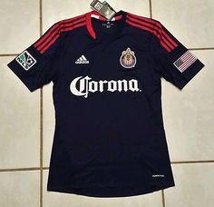 38a0e3bad NWT Authentic ADIDAS C.D. Chivas USA MLS Soccer Jersey Men s Medium