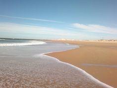 Cádiz al fondo. ..