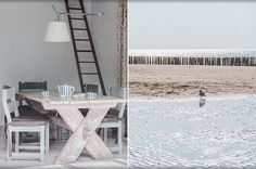 Beach house. Interior design Babs Appels