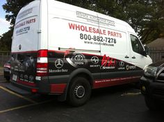 Resnick Auto Group's Wholesale Parts Sprinter van! Schaumburg Toyota, Automotive Group, Sprinter Van, Mercedes Benz, Chicago, Cars, Autos, Car, Automobile