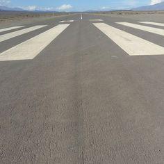 Pista de aterrizaje.Cachi(Salta) Argentina