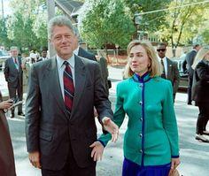 Hillary and Bill 1992