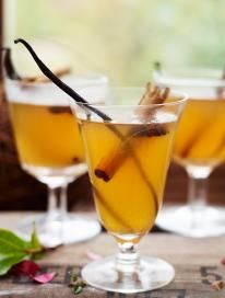Incredible mulled cider  It's not hard to make this from scratch, just pick up a few bottles of decent scrumpy and give this a try