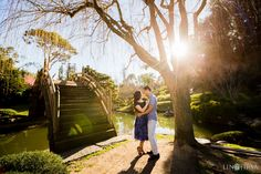Huntington Library Engagement | Kim LOVE THE LIGHTING & OVERALL FEEL