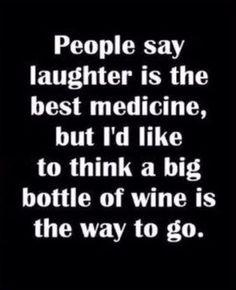 Vino makes everything better.
