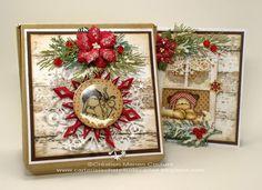 Une création de Kasimodo. Handmade Greetings, Greeting Cards Handmade, Handmade Christmas, Decoration, I Card, Christmas Cards, Creations, Scrapbooking, Frame