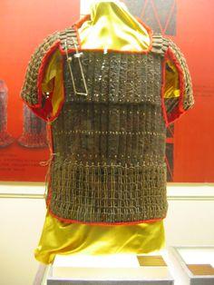Western Han Dynasty lamellar armour