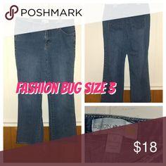 Fashion Bug size 3 (14w) jeans Excellent condition Fashion Bug Jeans Straight Leg