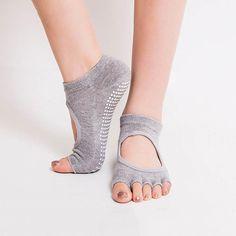 Non-Slip Five Toe Yoga Socks