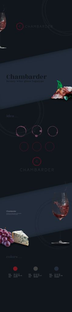 Chambarder Logotype luxury glass
